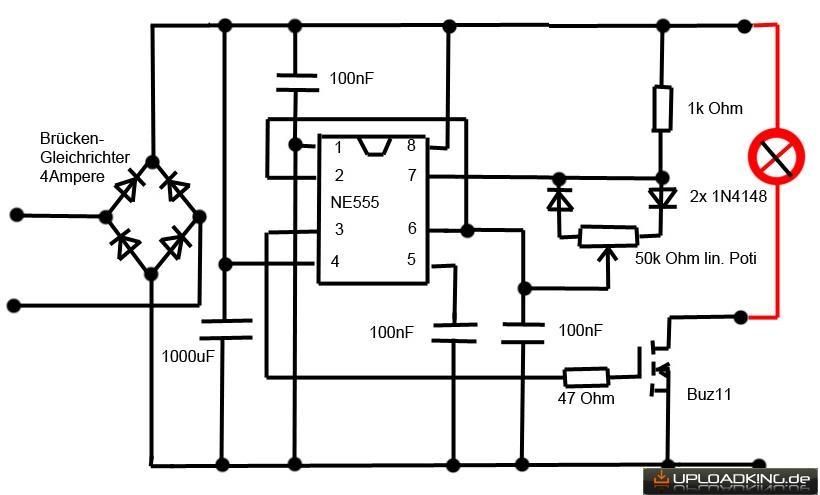 Dimmersteuerung Fur 6v 12v 1 30 Watt Mikroskop Halogen Lampen