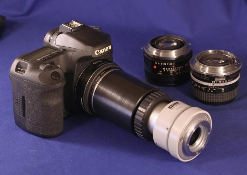 Ein einfacher foto adapter zur universellen anwendung