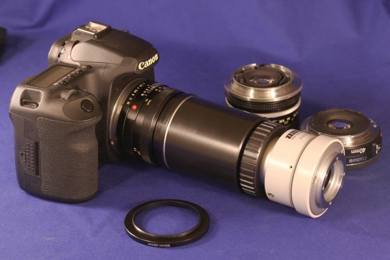 Camera adapter m var u optik online