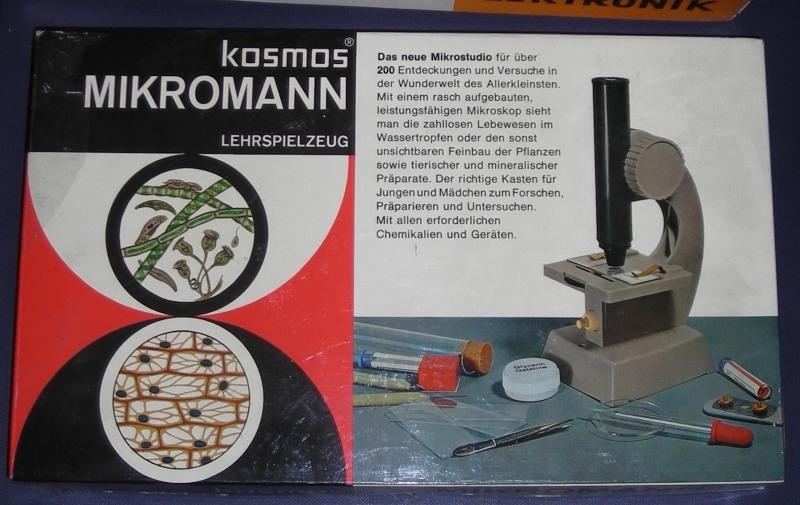 Die kosmos kästen zur mikroskopie