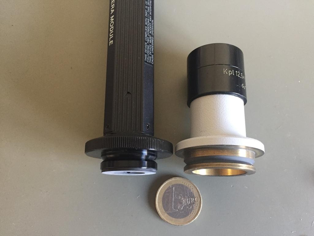 C mount anschluss und mikroskop adapter für für zeiss