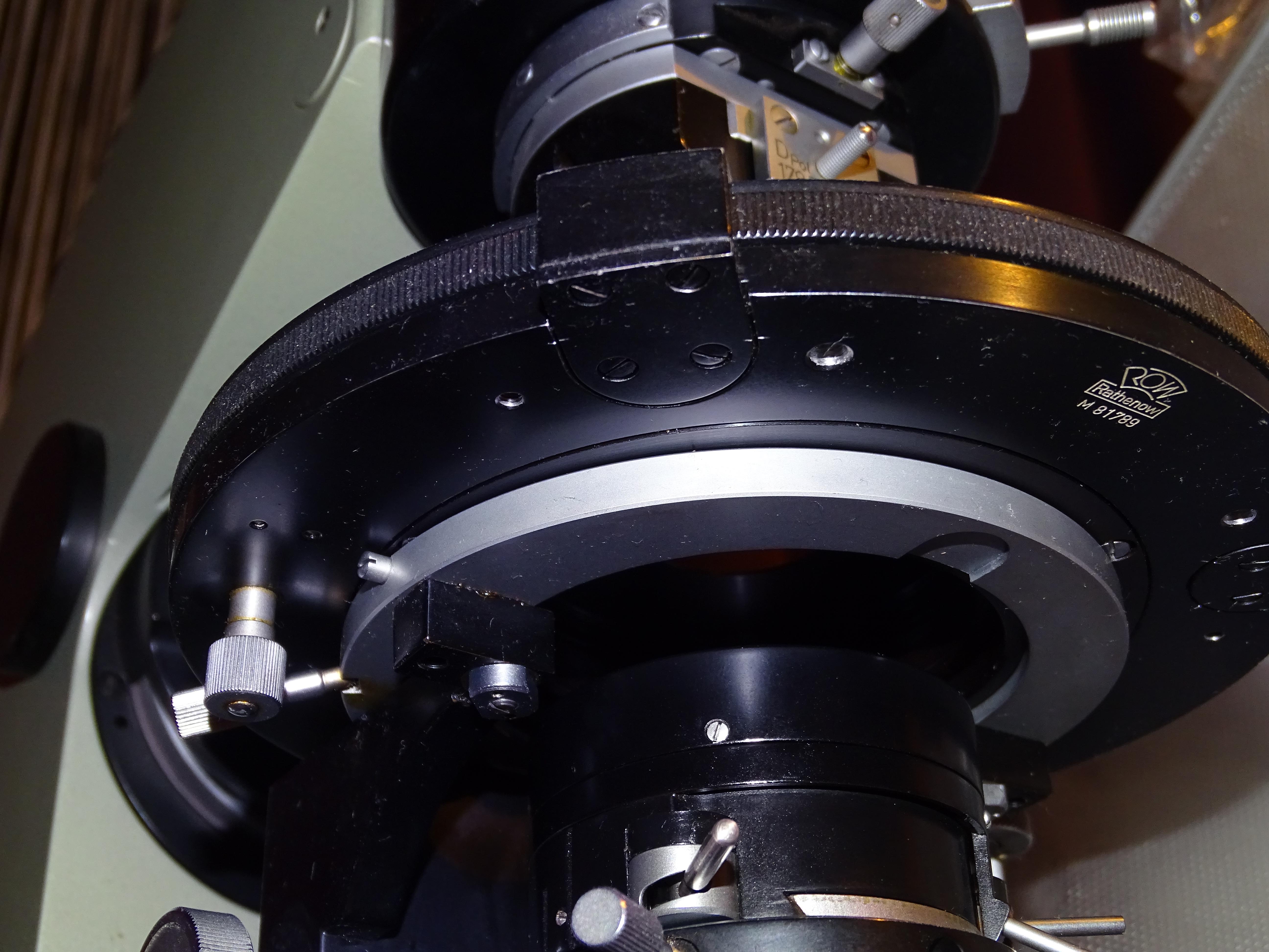 Der koloss von steglitz theodolit mikroskop xxxl von r. fuess