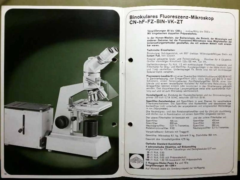 Mikroskope aus kaassel beck hertel reuss